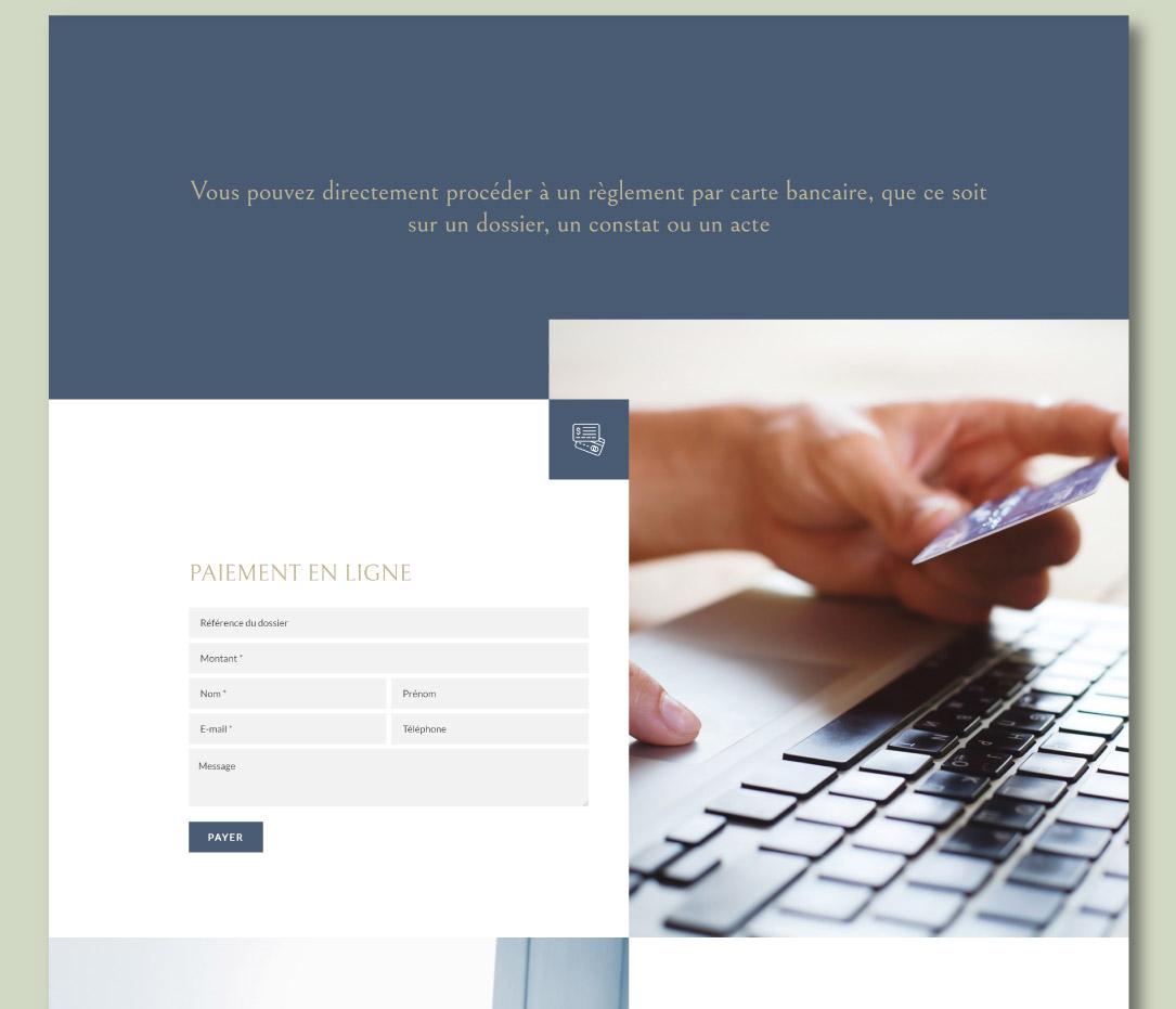 Site internet pour Huissiers de Justice