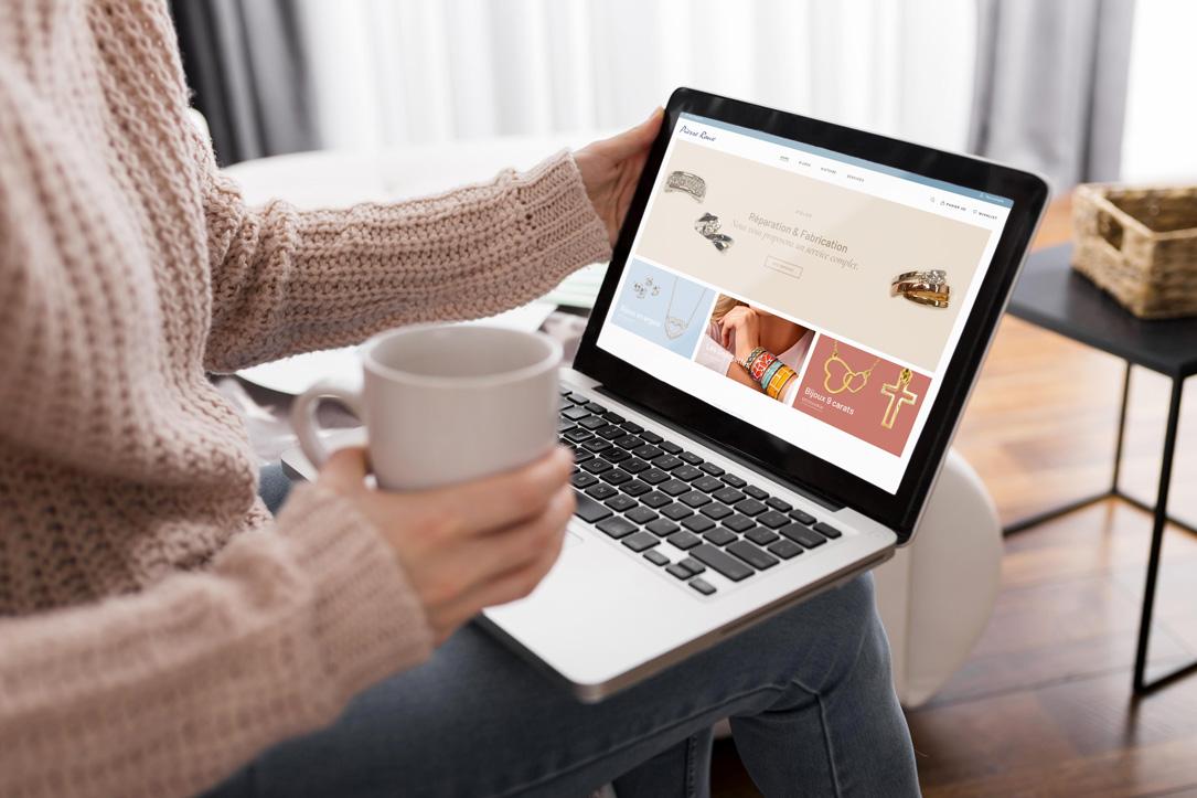 Développement d'un site e-commerce pour une bijouterie